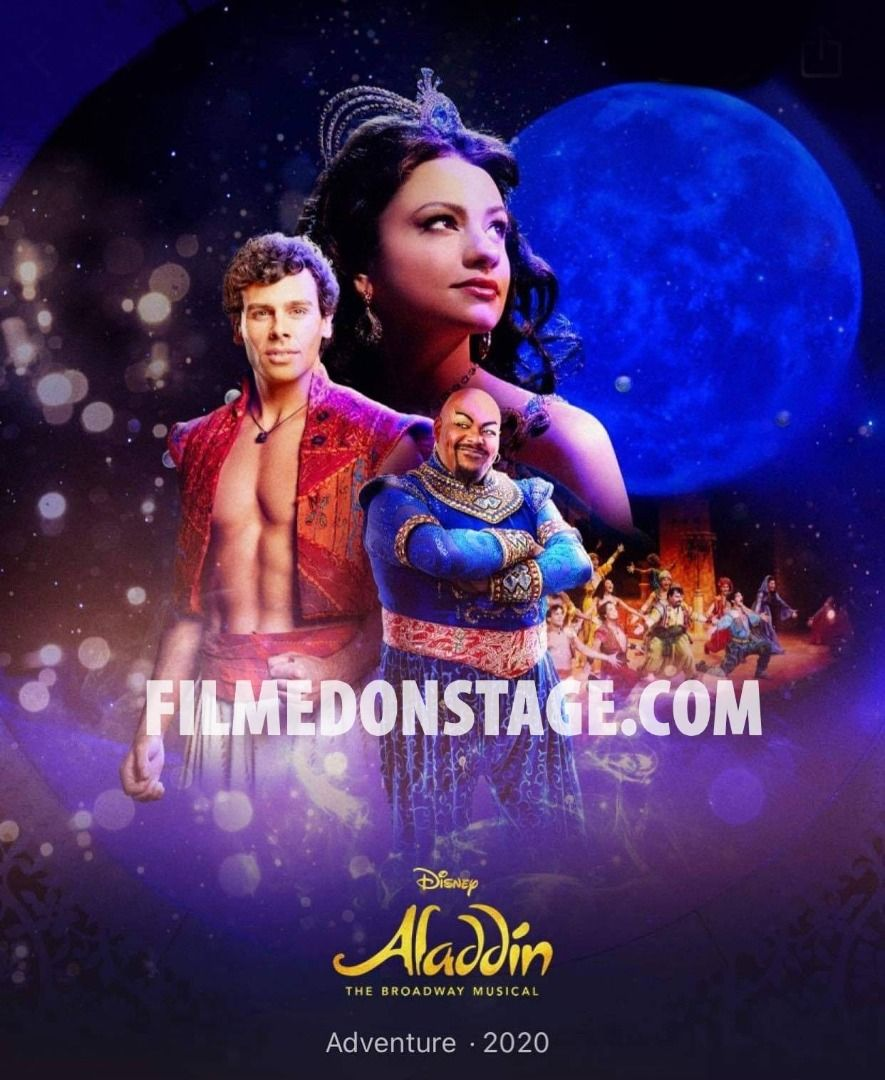Aladdin The Broadway Musical on Disney+