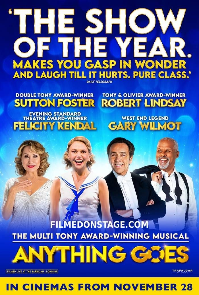 Anything Goes in Cinemas
