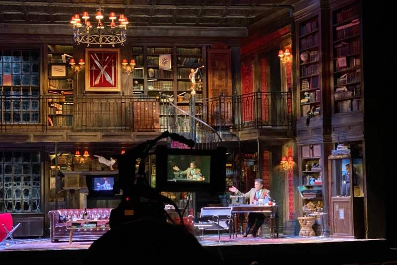 Filming Broadway Shows