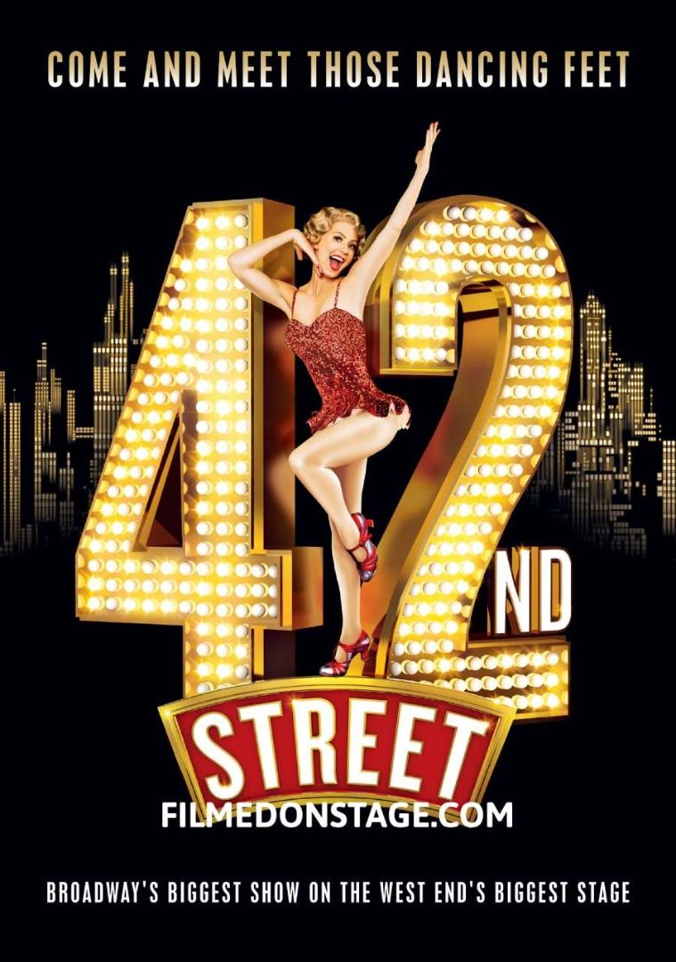 42nd Street The Musical on DVD